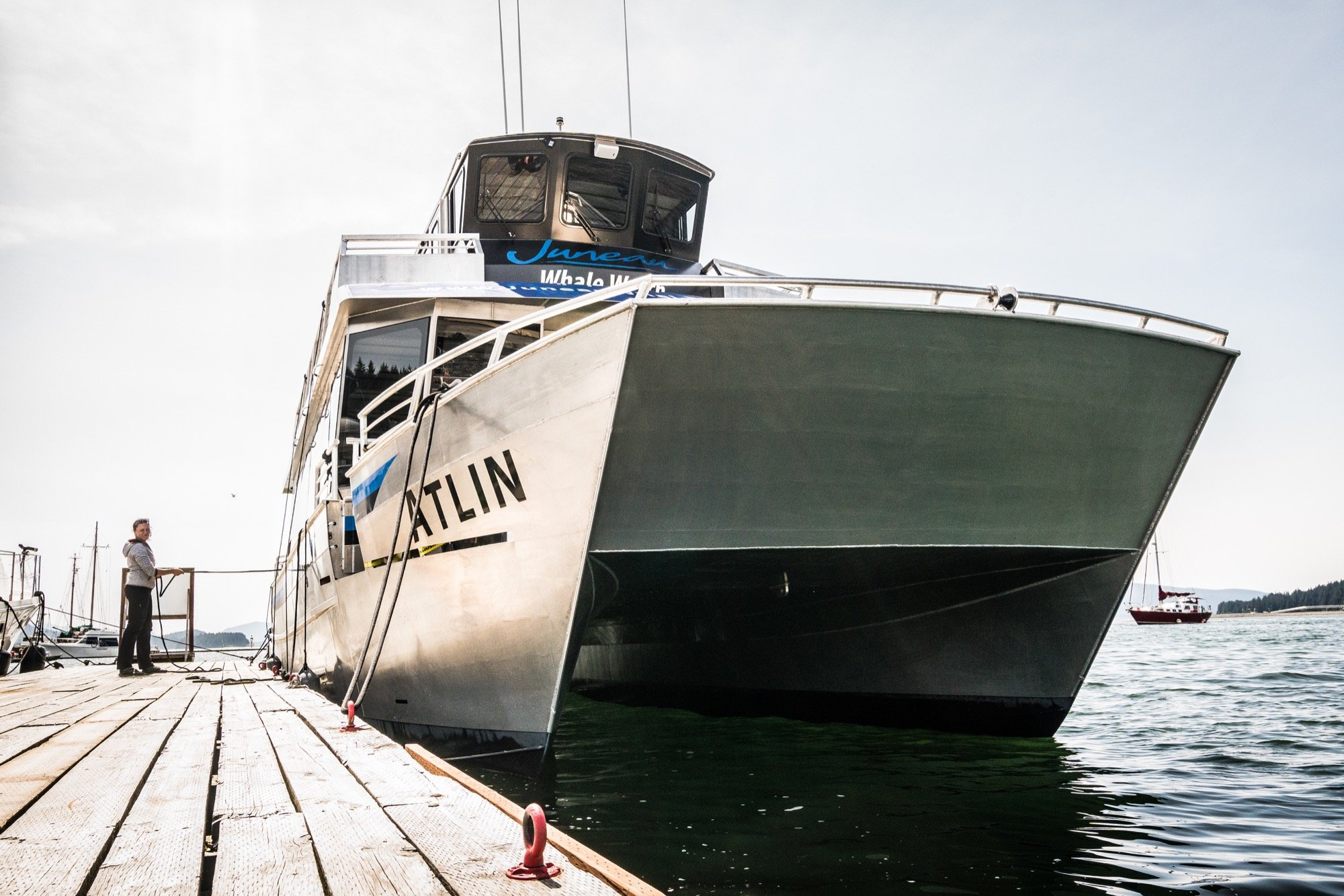 Meet the Atlin: our shiny new boat!